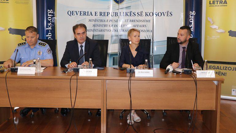 Ministria e Punëve të Brendshme vazhdon edhe për tre muaj afatin për legalizimin e armëve