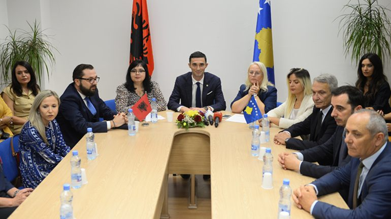 Kosova dhe Shqipëria memorandum bashkëpunimi në fushën e regjistrimit të bizneseve