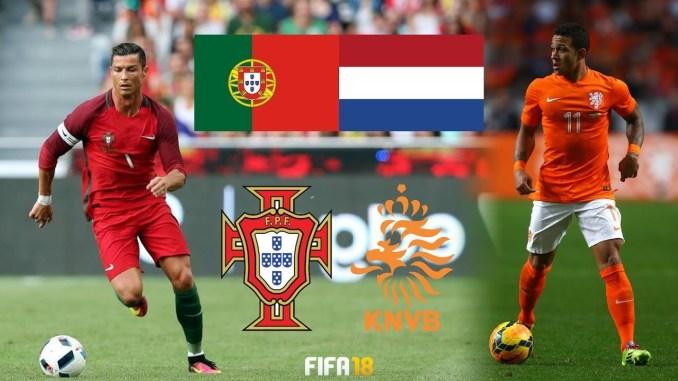 Sonte finalja e Ligës së Kombeve, Portugali-Holandë