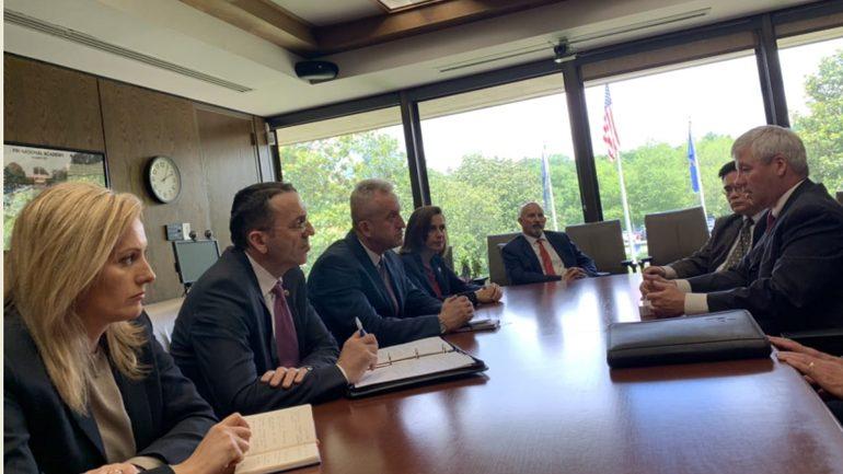 Nga vizita e Drejtorit të Përgjithshëm të Policisë së Kosovës në SHBA