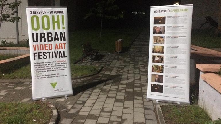 """""""Varg e Vi"""" e hapi Festivalin me 8 video-artistë ndërkombëtarë"""