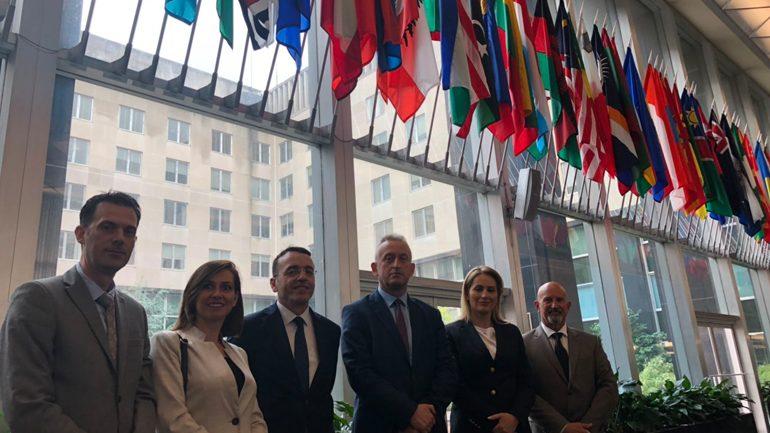 Takime të rëndësishme të delegacionit të Policisë së Kosovë në ShBA