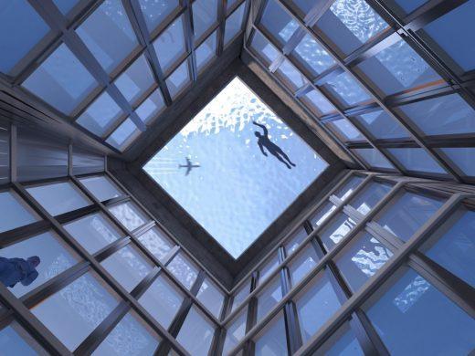 Pishina e parë në botë me pamje 360 shkallë