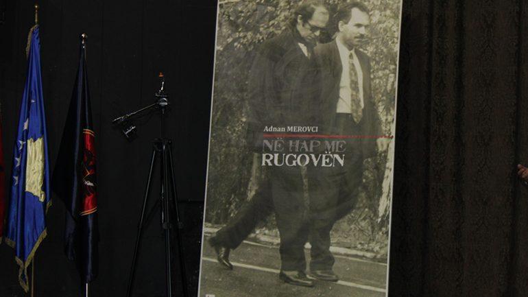 """Në Gjilan promovohen librat e Adnan Merovcit """"Në hap me Rugovën"""" dhe """"Kështjella e (Mos) Marrëveshjes"""""""