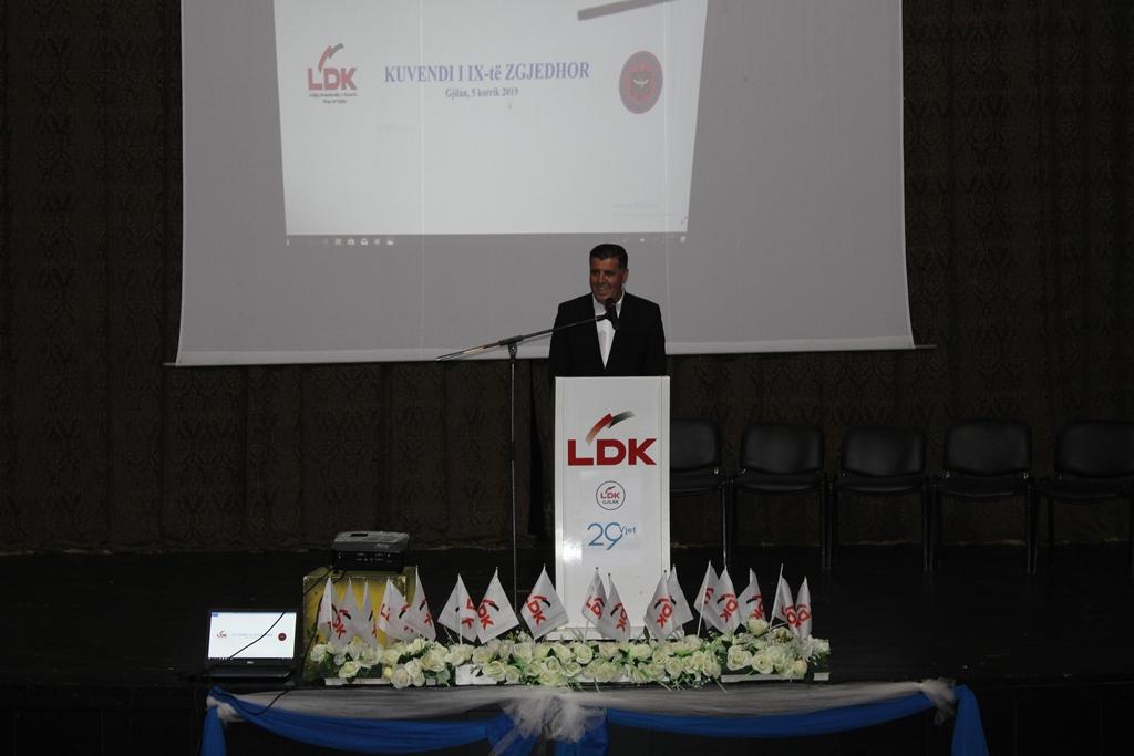 Lutfi Haziri rizgjedhet kryetar i LDK'së në Gjilan