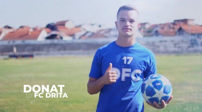 Drita transferon talentin Donat Hasanaj