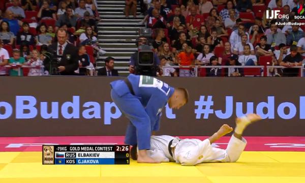 Akil Gjakova fiton medaljen e artë, mposht xhudistin rus