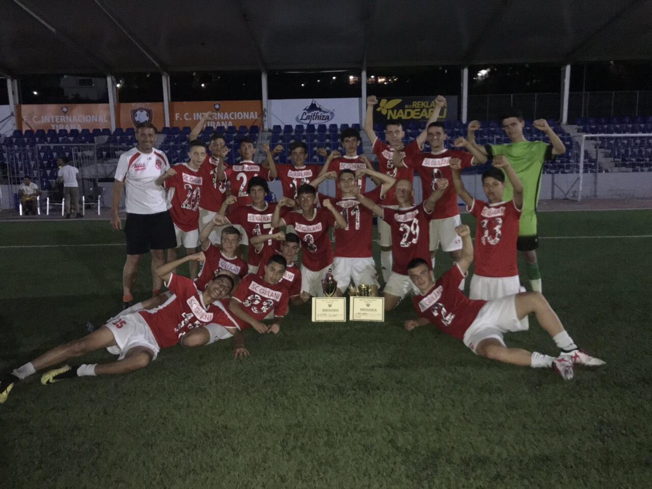 """Gjilani U15 kampion i turneut """"Megi Cup International"""""""