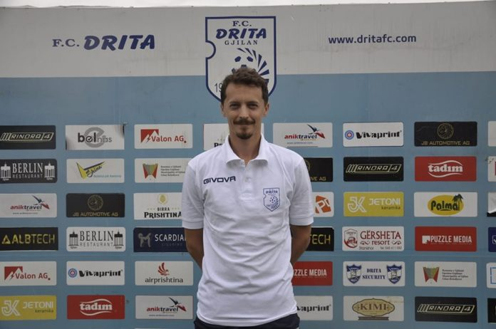 Konfirmohet, Sermaxhaj trajner i Dritës U19