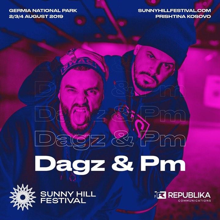 Dj PM dhe Dj Dagz pjesë e 'Sunny Hill Festival'