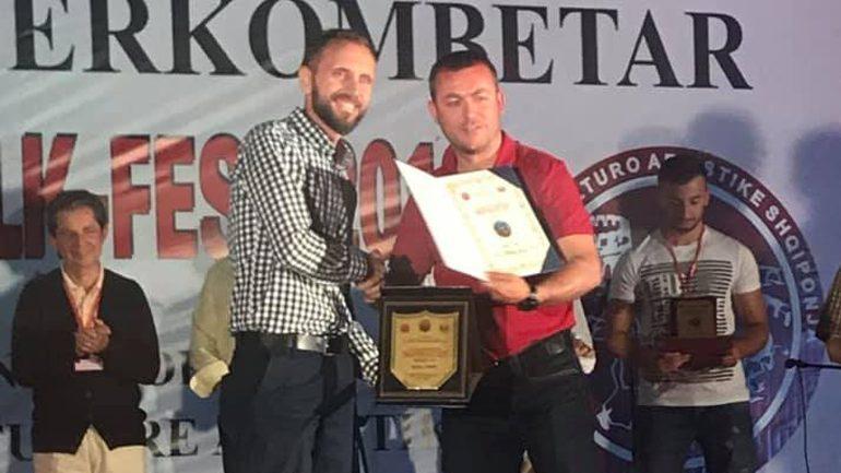 """AKV """"Kemajl Azizi"""" merr çmimin e tretë në Festivalin ndërkombëtar """"Shkupi Folk-Fest 2019"""""""