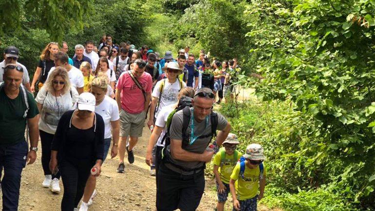 """""""Ditët e Mërgatës"""" në Gjilan nisin me alpinizëm"""