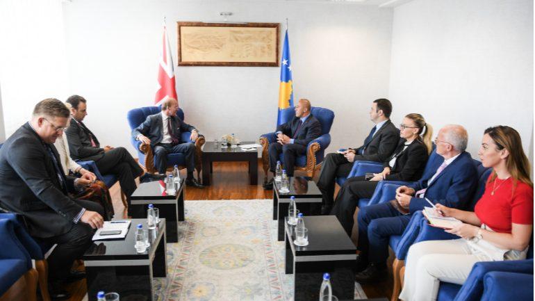Haradinaj: Kosova është e përkushtuar që të intensifikojë bashkëpunimin bilateral me Britaninë e Madhe
