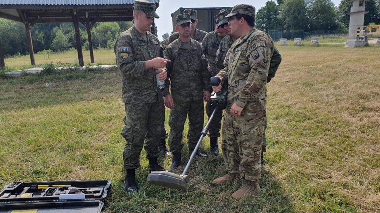 FSK-ja po merr pjesë në ushtrimin e përbashkët me partnerë ndërkombëtarë në Gjermani