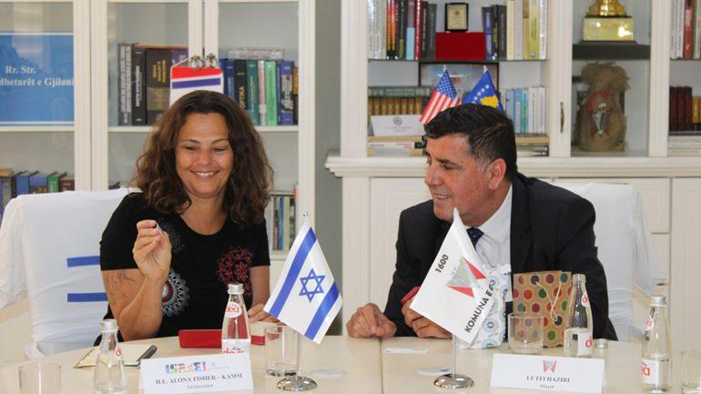 Kryetari Haziri ka pritur ambasadoren e Izraelit në Beograd, është konfirmuar bashkëpunimi në fushën e agro-biznesit