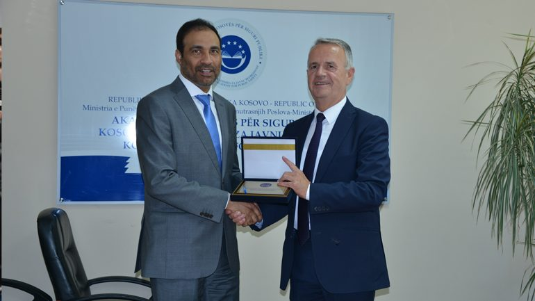 Kosova dhe Katari thellojnë bashkëpunimin në fushën e emergjencave dhe trajnimin e kuadrove