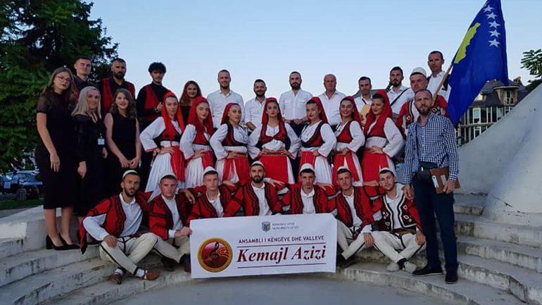 """Ansambli """"Kemajl Azizi"""" nga Vitia, kthehet nga Struga edhe me një çmim"""