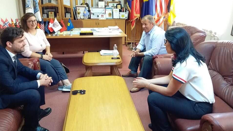 Zëvendëskryetari i Vitisë vlerëson lartë punën e vullnetarëve të Korpusit të Paqes
