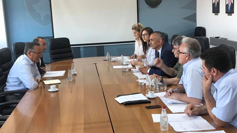 """OAKkërkon nga Ministri Hamza përkrahje për """"Hidroregjionin jugor"""""""