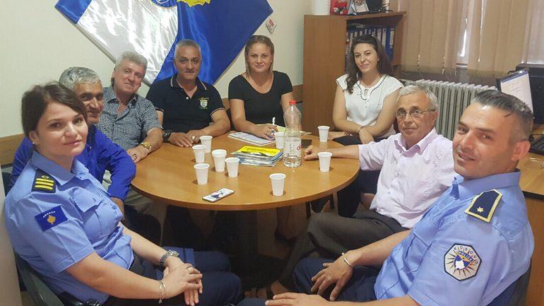 """Policia në takim me Këshilli Lokal për Siguri Publike të lagjes """"Avdulla Presheva"""""""