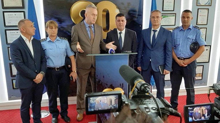 Haziri: Komuna dhe Policia e Kosovës po bëjnë që të kemi gjendje jashtëzakonisht të mirë të sigurisë