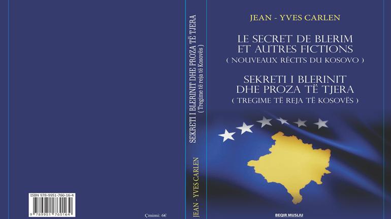 Jean Yves Carlen vjen edhe me një libër të ri për Kosovën