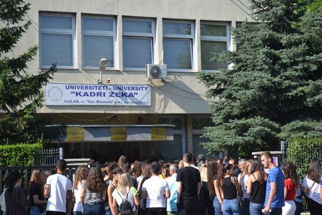 """Universiteti """"Kadri Zeka"""" hap konkurs plotësues për pranim të studentëve"""