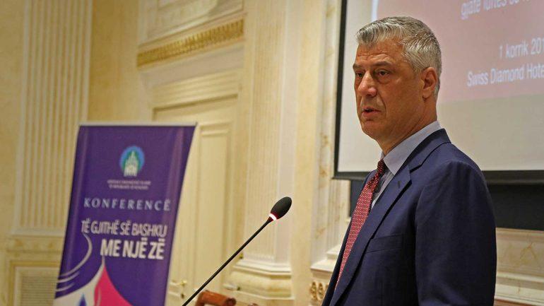 Presidenti Thaçi: Krimet makabre në Kosovë i ka kryer sistematikisht shteti i Serbisë