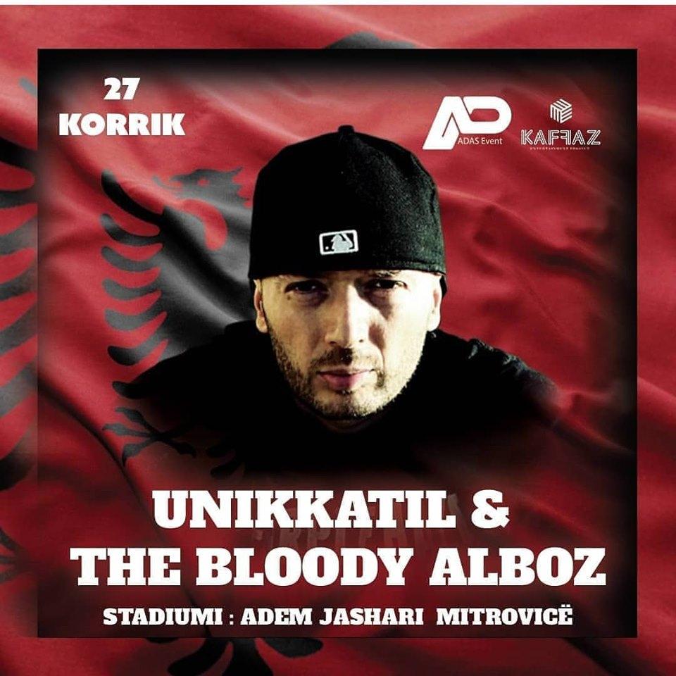 Unikkatil do të këndojë në Mitrovicë, 'çmenden' fansat!