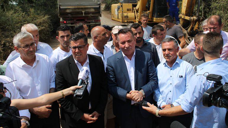 Haziri: Këtë projekt ia kishim borxh këtij lokaliteti që ishte vatër e rezistencës