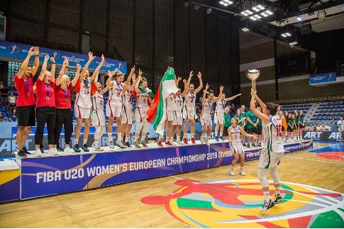 Basketboll, Bullgaria kampione e Kampionatit Evropian në Kosovë