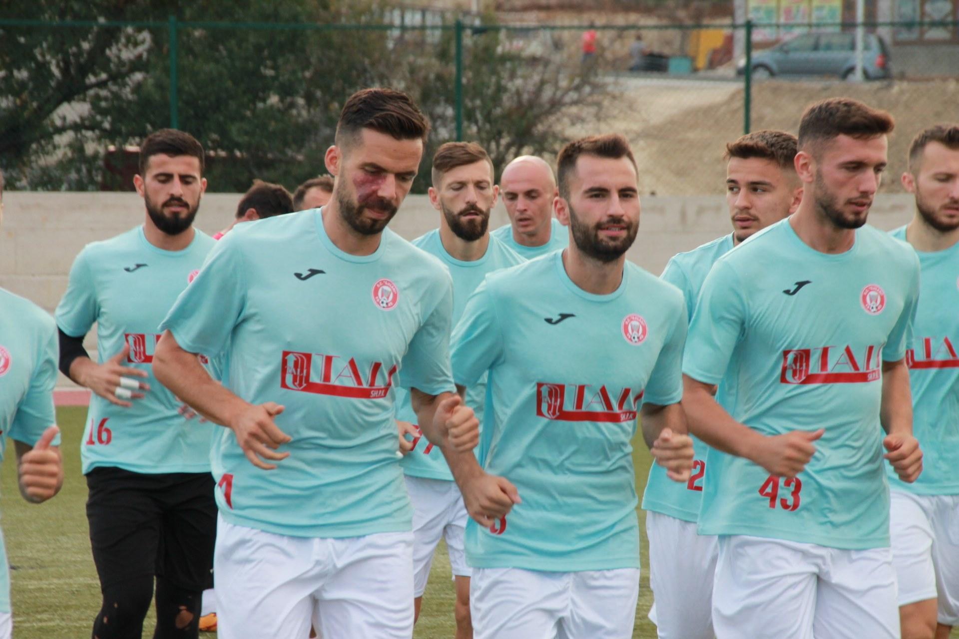 Kf.Gjilani gati për sfidën ndaj Kf.Ferizajit, kjo është lista e futbollistëve
