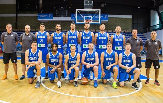 Kosova ngritet për 21 pozita në ranglistën e FIBA-s