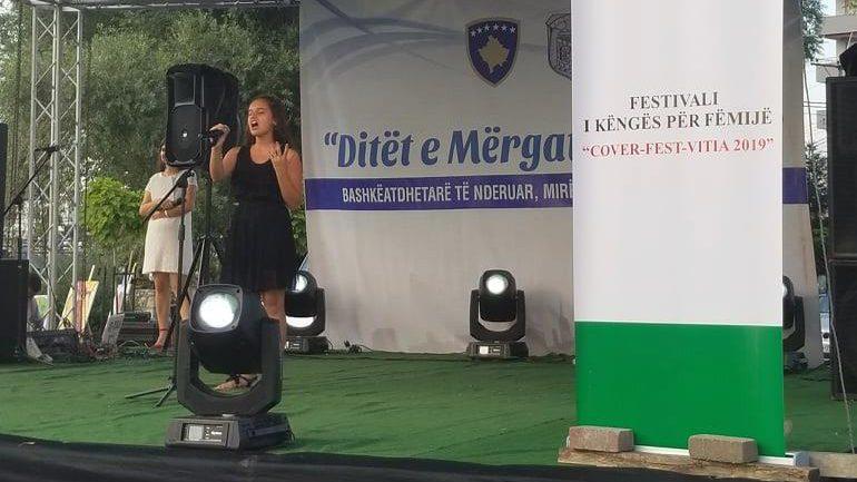 """Në Viti u mbajt Festivali i këngëve për fëmijë """"Cover Fest"""""""