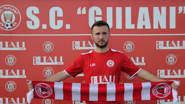 Fjoart Jonuzi zyrtarisht futbollist i Gjilanit