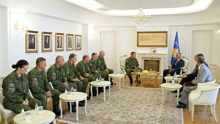 Presidenti Thaçi: Kam dekretuar sot strukturën e re komanduese të FSK-së