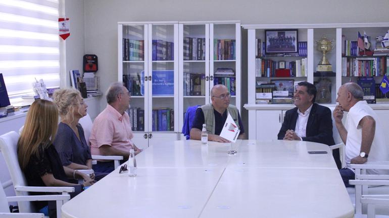 Haziri pret delegacionin nga Gjeneva për bashkëpunim në agrobiznes dhe shkëmbim të studentëve e profesorëve