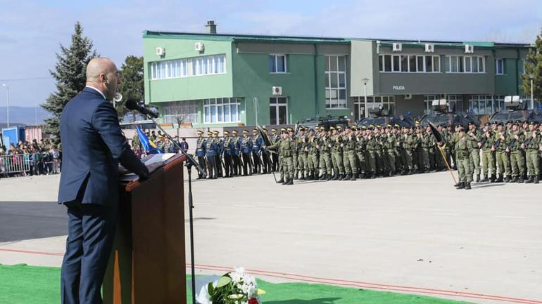 Haradinaj: Transformimi i FSK-së në Ushtri të Kosovës po merr krah!