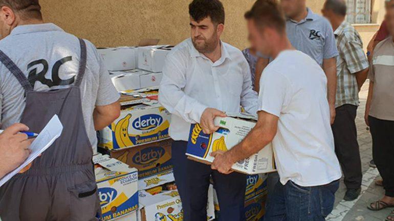 KBI ndanë 100 pako ushqimore per nevojtarë me rastin e Kurban Bajramit