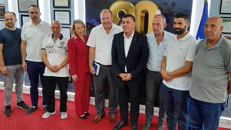 """Haziri koordinohet me këshillin e fshatit dhe shoqatën """"Malisheva"""" për realizimin e programeve të përbashkëta"""