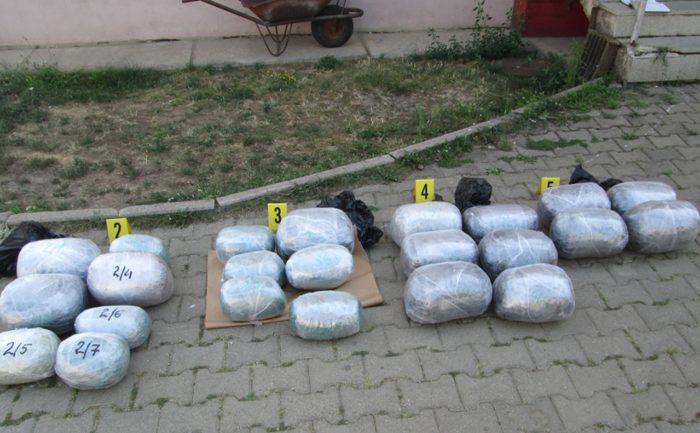 Policia e Kosovës konfiskon 31 kilogram substancë narkotike të llojit Marihuanë