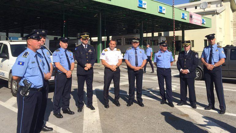 Drejtori i përgjithshëm i Policisë së Kosovës viziton pikën kufitare në Vërmicë