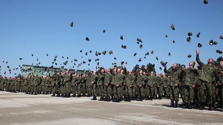 347 rekrutë të rinj të FSK-së betohen solemnisht për shërbim ndaj Atdheut