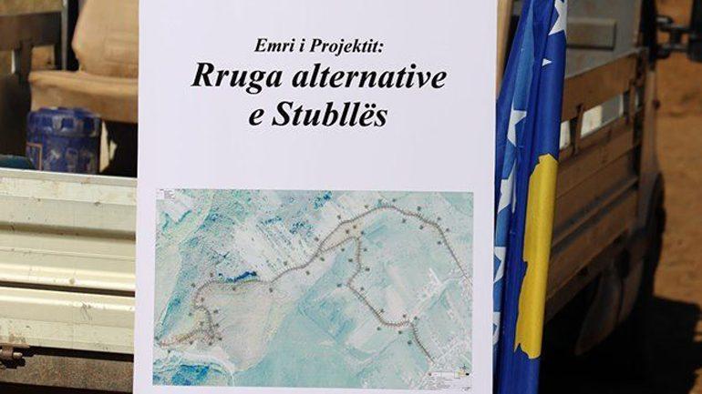 Fillojnë punimet në rregullimin e rrugës alternative të Stubllës së Epërme