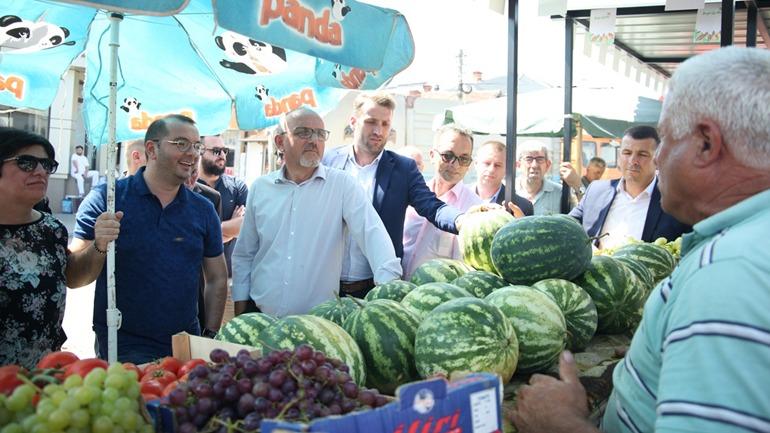Gjilani finalizon projektin për bashkëpunim ndërkufitar Gjilan-Kumanovë për modernizimin e tregjeve