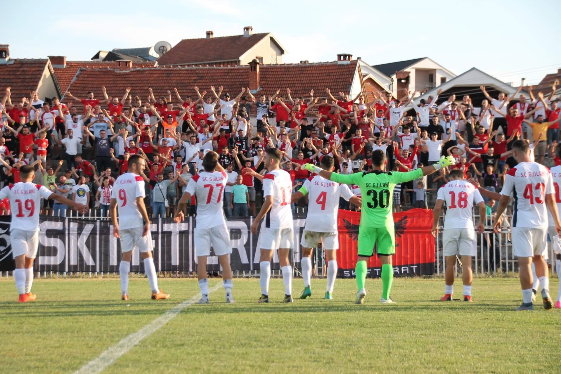 Kf.Gjilani publikon listën e futbollistëve për miqësoren në Zvicër