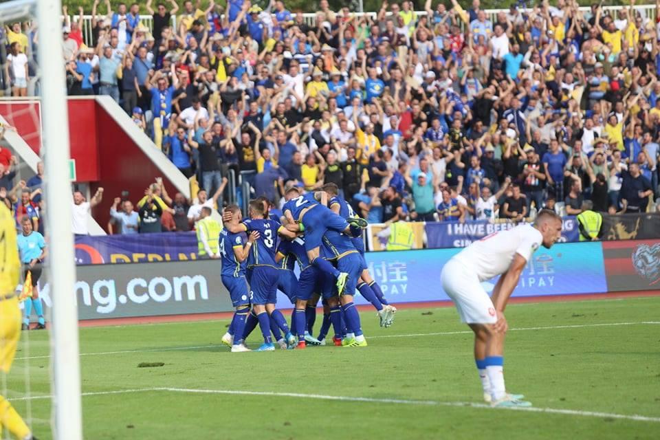 Statistikat e ndeshjes, Angli 5 – 3 Kosovë