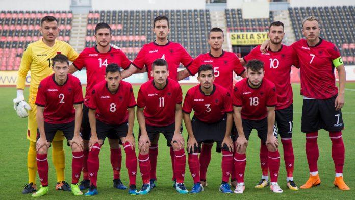 """Shqipëria U21 pret Anglinë në """"Loro Boriqi"""""""
