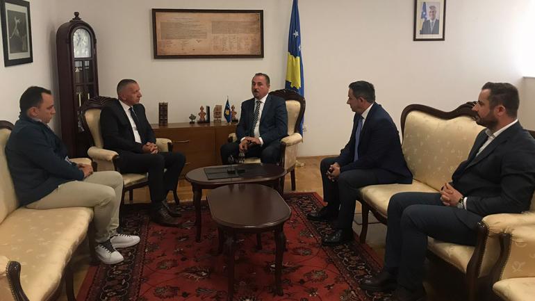 Ministri i Punëve të Brendshme takoi Kryetarin e komunës së Bujanocit