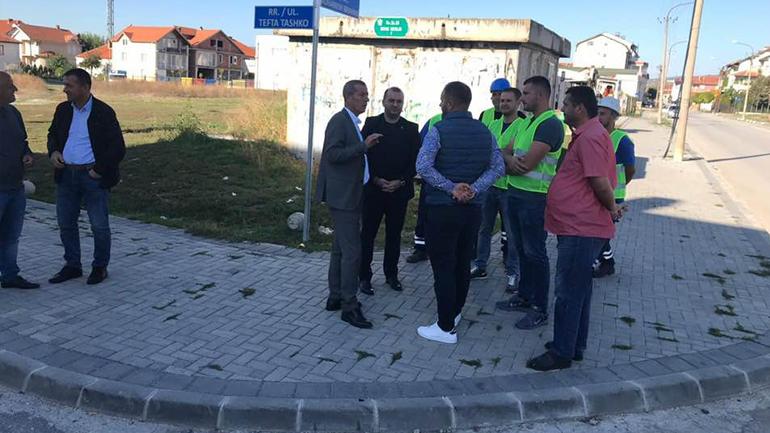 Gjilani nis ndërtimin e trotuareve në lagjen Dardania, kosto afro gjysmë milioni euro